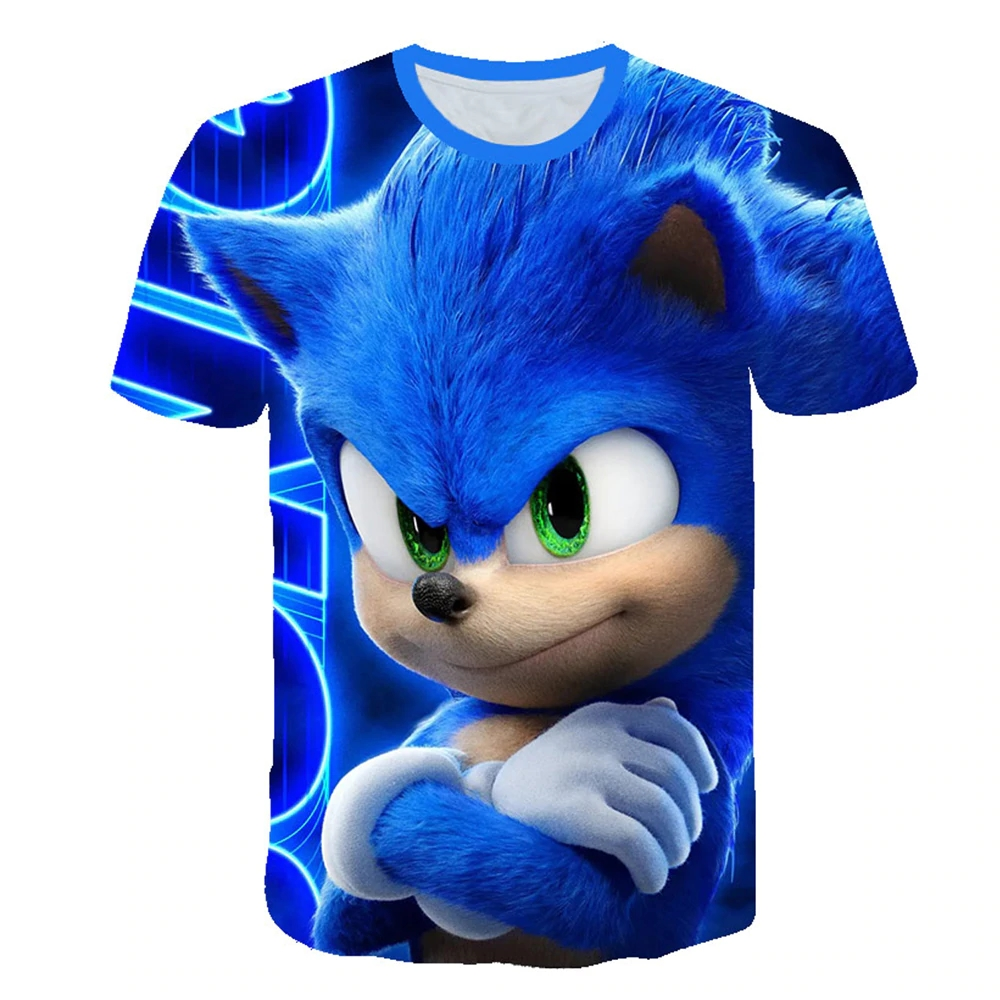 3D TRIČKO SONIC THE HEDGEHOG  130-135cm