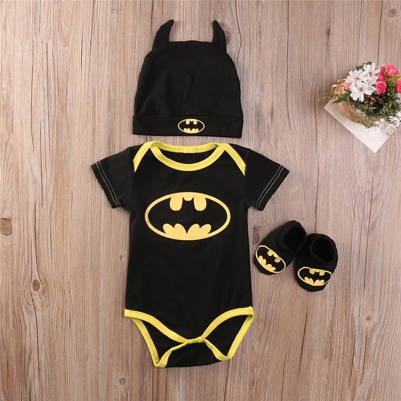 dětské body Black & Yellow Batman 18