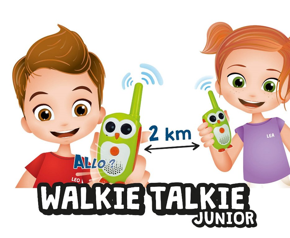 BUKI MiniScience Vysílačky Walkie Talkie Junior 2km