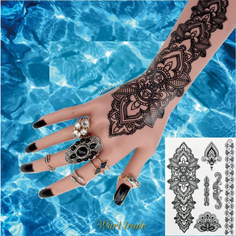 TRIBAL TEMPORARY TATTOO  BH-1