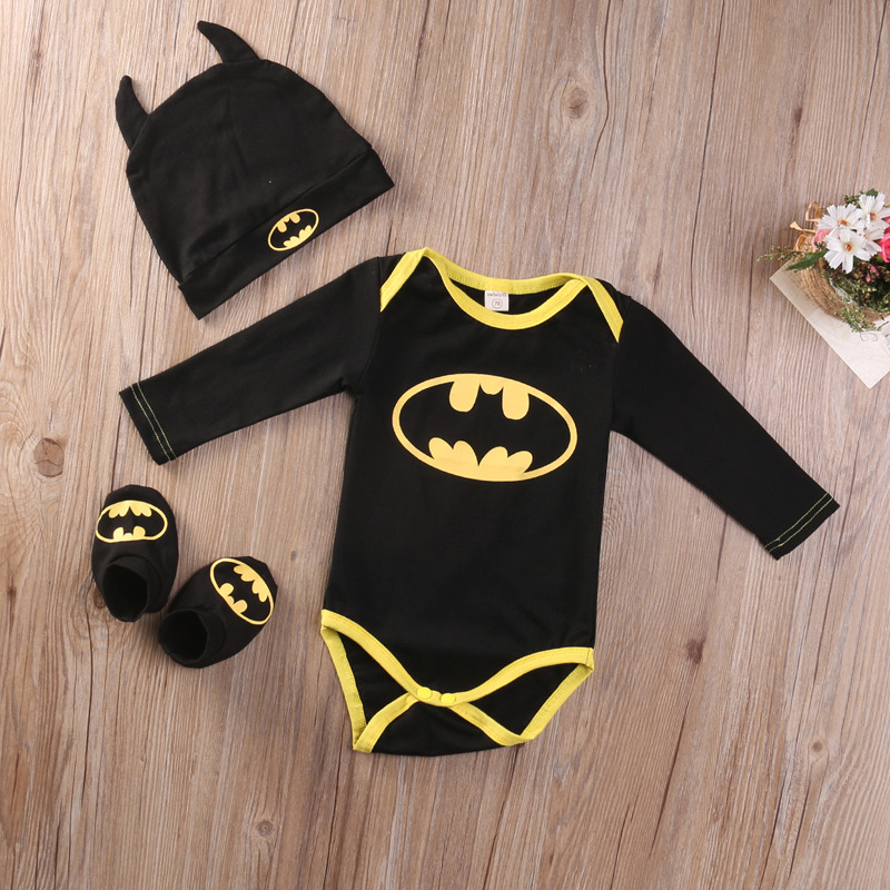 dětské body Black & Yellow Batman